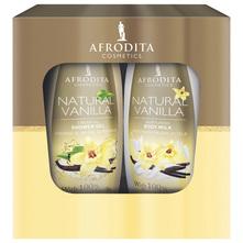 Afrodita Natural vanilla set