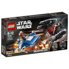 Lego A-Wing protiv TIE Silencer mikroboraca