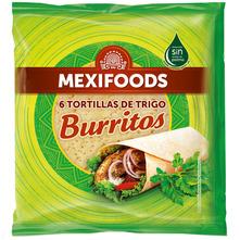 Mexifoods Burritos Tortilje 6x25 cm 370 g