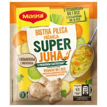 Maggi Super juha bistra pileća s đumbirom 50 g