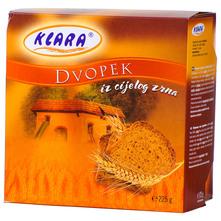Klara Dvopek iz cijelog zrna 225 g