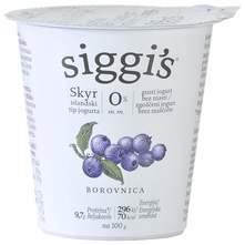 Siggis Skyr Jogurt borovnica 0% m.m. 150 g