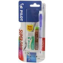 Pilot Super Grip Tehnička olovka, gumica i mine