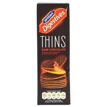 McVities Digestive Thins Keksi dark chocolate 180 g