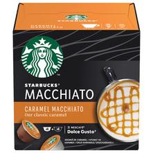 Starbucks Caramel Macchiato by Nescafe Dolce Gusto kava, 12 kapsula/6 napitaka, 127,8 g