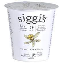 Siggis Skyr Jogurt vanilija 0% m.m. 150 g