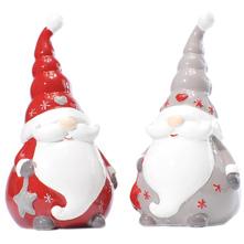 Božićna dekoracija razne boje 10,1x8,2x6,4 cm