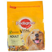 Pedigree Vital Protection Adult Hrana za pse piletina, povrće 2,6 kg