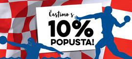 Častimo s 10% popusta!