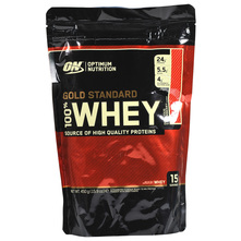 Optimum Nutrition Gold Standard 100% Whey Prah delicious strawberry 450 g