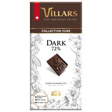 Villars Tamna čokolada 72% kakao 100 g