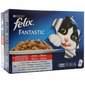 Felix Fantastic Hrana za mačke piletina, govedina, zečetina, janjetina 12x100 g