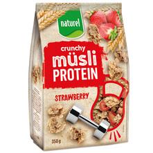 Naturel Protein crunchy muesli strawberry 350 g