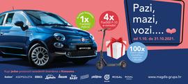 Pazi, mazi, vozi... Fiat500 Dolce ili F10 romobile te osiguraj svojoj obitelji vrijedne nagrade