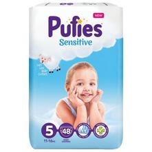 Pufies Sensitive Pelene, veličina 5 (11-16 kg) 48/1
