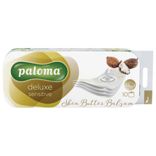 Paloma Deluxe Sensitive Shea Butter Balsam Toaletni papir 4 sloja 10/1