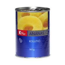 Kompot ananas kolutići K Plus 340 g