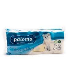 Paloma Exclusive toaletni papir 3 sloja 8+2