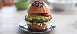 Meksički burger s guacamoleom