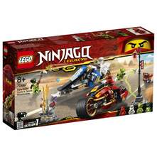 Lego Kaijeve oštrice i Zaneove motorne saonice
