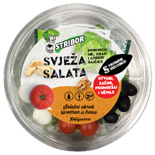 Stribor Svježa salata sir, orasi i cherry rajčice 160 g