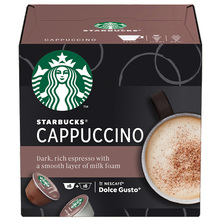 Starbucks Cappuccino by Nescafe Dolce Gusto kava, 12 kapsula/6 napitaka, 120 g