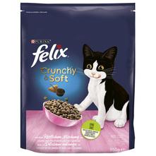Felix Crunchy&Soft Junior Hrana za mačke piletina, puretina, povrće 950 g