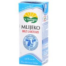Z bregov Mlijeko bez laktoze 2,8% m.m. 0,2 l