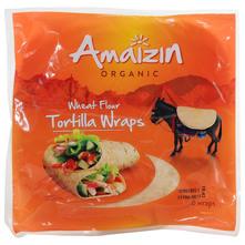 Amaizin Organic Tortilje pšenične eko 6x20 cm 240 g