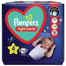 Pampers Night Pants Pelene-gaćice, veličina 4 (9-15 kg) 25/1