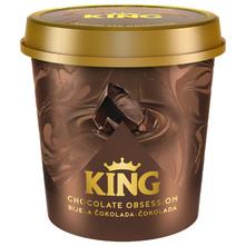 King Chocolate Obsession Sladoled bijela čokolada i čokolada 450 ml