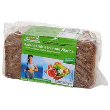 Mestemacher Raženi kruh s tri vrste žitarica 500 g