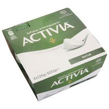 Activia Natur jogurt sa živim jogurtnim kulturama s 3,4% m.m. (4x125 g) 500 g