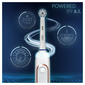 Oral B Genius X 20000 Luxe Edition Punjiva električna zubna četkica s putnim spremnikom i 3 dodatne glave
