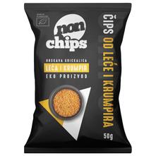 Non Chips Čips od leće i krumpira bez glutena eko 50 g