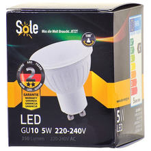 Sole LED žarulja 5W GU10
