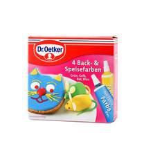 Dr.Oetker boja za kolače 4 vrste 40 g