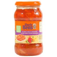 Uncle Bens Slatko kiseli umak s extra ananasom 400 g