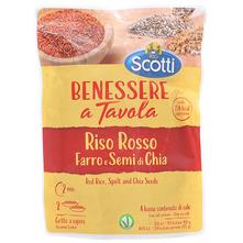 Scotti Riso Rosso Mješavina crvene riže, ječma i chia sjemenki 250 g