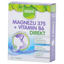 Naturel Magnezij 375+ Vitamin B6 direkt granule 30 g