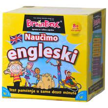 Društvena igra Brainbox Naučimo engleski