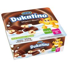 Dukatino Mliječni desert čokolada lješnjak 4x62,5 g