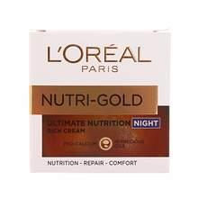 L'oreal  Nutri Gold noćna krema za suhu kožu 50 ml