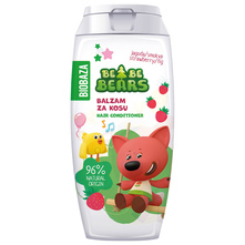 Biobaza Bebe Bears Balzam za kosu jagoda smokva 250 ml