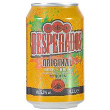 Desperados Original Svijetlo pivo s aromom tequile 0,33 l
