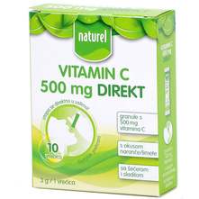 Naturel Vitamin C 500 mg Direkt granule 30 g