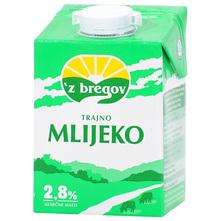 Z bregov Trajno mlijeko 2,8% m.m. 0,5 l