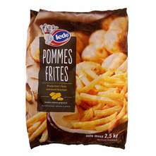 Ledo pommes frites premium 2,5 kg