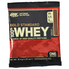 Optimum Nutrition Gold Standard 100% Whey Prah double rich chocolate 30,4 g