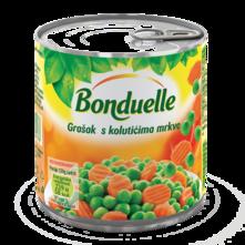 Grašak i mrkva 240 g Bonduelle